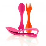 Ложка-вилка Light My Fire Spork Sporks'n Case 2 шт Orange/Fuchsia LMF 41449313