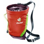 Мешочек для магнезии Deuter Gravity Chalk Bag II L papaya-aubergine