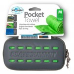 Полотенце Sea To Summit Pocket Towel S lime