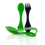 Ложка-вилка Light My Fire Spork Sporks'n Case 2 шт Black/Green LMF 41444713